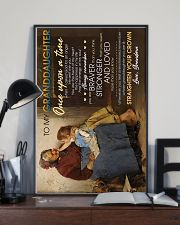 To Granddaughter - Whose Granddaughter You Are 16x24 Poster lifestyle-poster-2