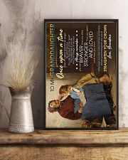 To Granddaughter - Whose Granddaughter You Are 16x24 Poster lifestyle-poster-3