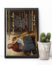 To Granddaughter - Whose Granddaughter You Are 16x24 Poster lifestyle-poster-8