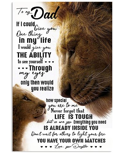 TO MY DAD - LION - IF I COULD