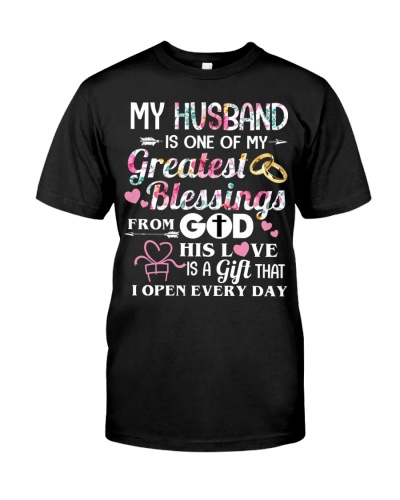 My husband is one of my greatest blessings