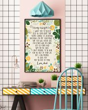 To my daughter i want you to believe 11x17 Poster lifestyle-poster-6