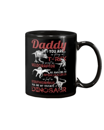 MUG - TO MY DAD - MY FAVORITE DINOSAUR