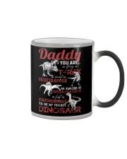 MUG - TO MY DAD - MY FAVORITE DINOSAUR Color Changing Mug thumbnail