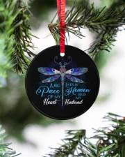 Angel Husband - Dragonfly - A Big Piece Circle ornament - single (porcelain) aos-circle-ornament-single-porcelain-lifestyles-07