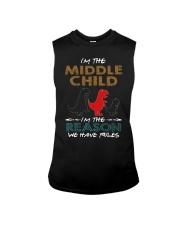 T-SHIRT - T REX - RULES - MIDDLE CHILD Sleeveless Tee thumbnail