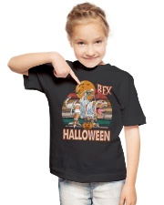 Saurus - Rex Halloween - T-shirt Youth T-Shirt lifestyle-youth-tshirt-front-2