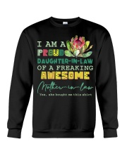 I AM A PROUD DAUGHTER-IN-LAW - PROTEA - VINTAGE Crewneck Sweatshirt thumbnail