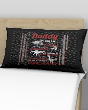 PILLOW CASE - TO MY DAD - MY FAVORITE DINOSAUR Rectangular Pillowcase aos-pillow-rectangular-front-lifestyle-02