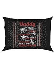 PILLOW CASE - TO MY DAD - MY FAVORITE DINOSAUR Rectangular Pillowcase front