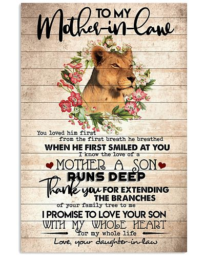 TO MY MOTHER-IN-LAW - LIONESS - THANK YOU