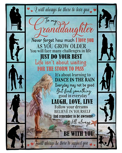 TO MY GRANDDAUGHTER - FROM GRANDPA