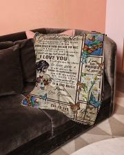 "Grandma to Granddaughter - I Love You  Small Fleece Blanket - 30"" x 40"" aos-coral-fleece-blanket-30x40-lifestyle-front-05"