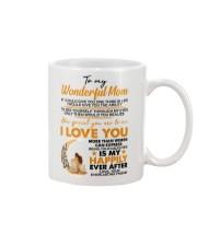 TO MY MOM Mug front