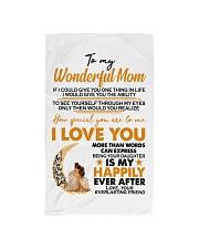 TO MY MOM Hand Towel thumbnail