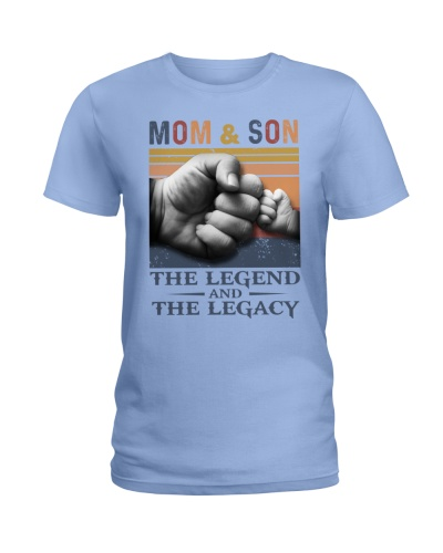 T-SHIRT - MOM AND SON - VINTAGE