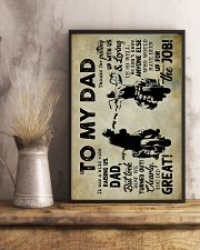To My Dad - Motobike - Poster 16x24 Poster lifestyle-poster-3