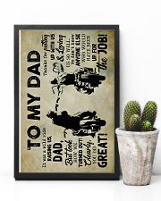To My Dad - Motobike - Poster 16x24 Poster lifestyle-poster-8
