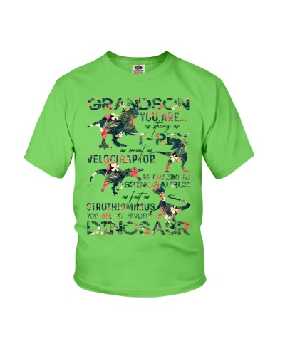 T-SHIRT - TO MY GRANDSON - DINOS - YOU ARE