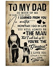 To My Dad - Poster 16x24 Poster front