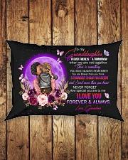 Grandma to Granddaughter - Pillowcase Rectangular Pillowcase aos-pillow-rectangle-front-lifestyle-2