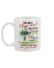 DAUGHTER TO STEP DAD Mug back