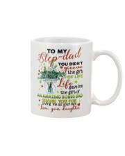 DAUGHTER TO STEP DAD Mug front