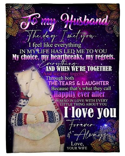 TO MY HUSBAND - BEAR - I LOVE YOU