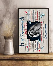 To Daughter - Hands - I Believe In Love At First 16x24 Poster lifestyle-poster-3