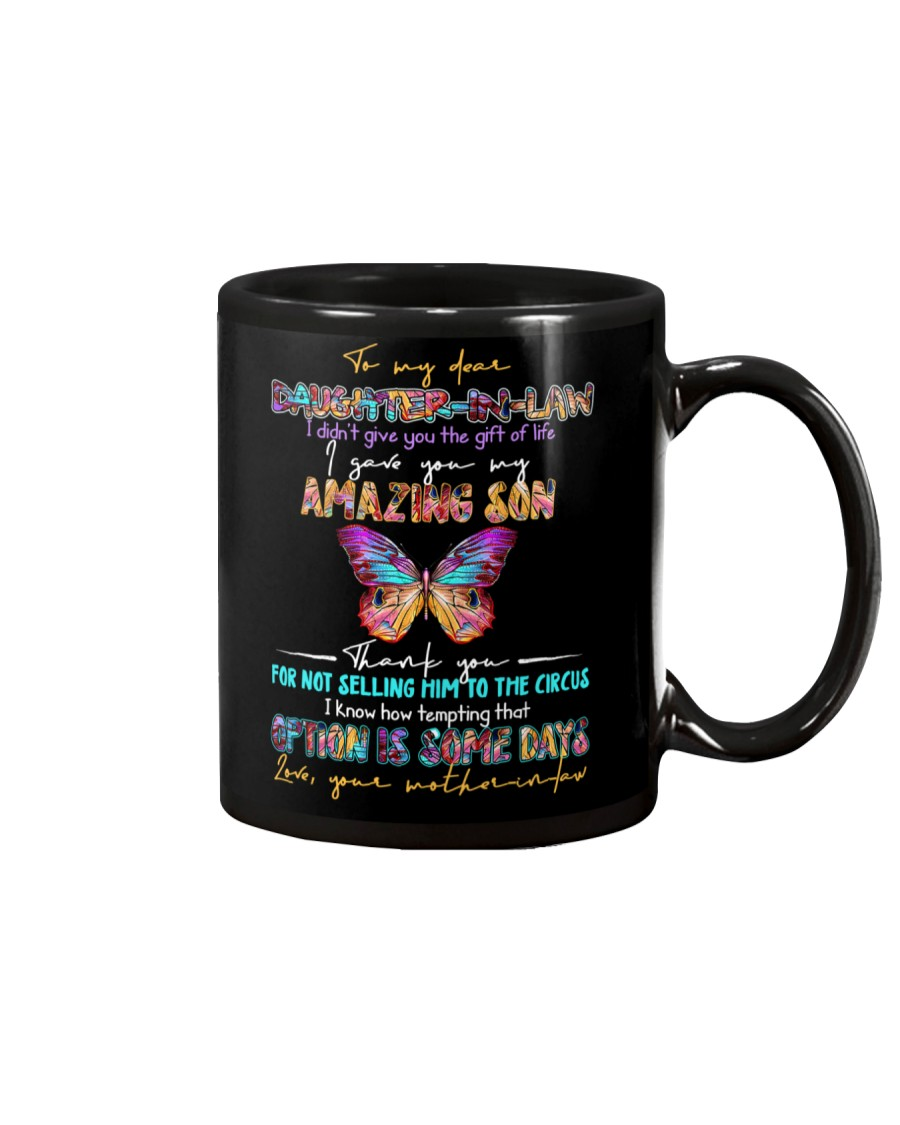 TO MY DAUGHTER-IN-LAW - BUTTERFLY - CIRCUS Mug
