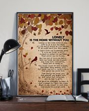 Lonely is the home without you 16x24 Poster lifestyle-poster-2