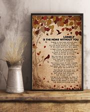 Lonely is the home without you 16x24 Poster lifestyle-poster-3