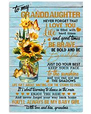 Grandma to Granddaughter - You'll Always Be My  16x24 Poster front