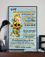 Grandma to Granddaughter - You'll Always Be My  16x24 Poster lifestyle-poster-2