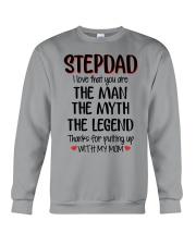 STEPDAD I love that you are Crewneck Sweatshirt thumbnail