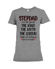 STEPDAD I love that you are Premium Fit Ladies Tee thumbnail