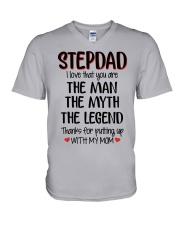 STEPDAD I love that you are V-Neck T-Shirt thumbnail