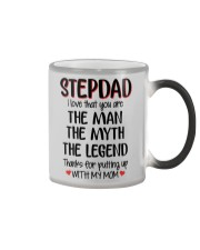 STEPDAD I love that you are Color Changing Mug thumbnail