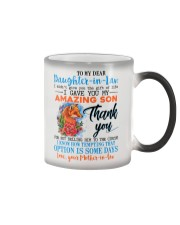 TO MY DAUGHTER-IN-LAW - FOX - ROSE - CIRCUS Color Changing Mug thumbnail