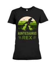 AUNTIE - SAURUS - REX Premium Fit Ladies Tee thumbnail