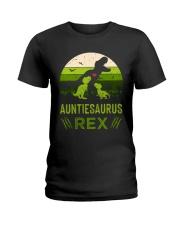 AUNTIE - SAURUS - REX Ladies T-Shirt thumbnail