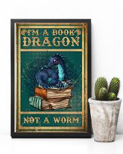 Dragon - Book - I'm A Book Dragon - Poster 16x24 Poster lifestyle-poster-8