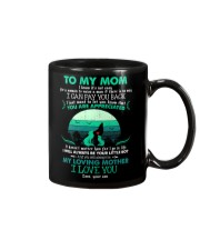 MUG - TO MY MOM - WOLF - YOU ARE APPRECIATED Mug front