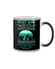 MUG - TO MY MOM - WOLF - YOU ARE APPRECIATED Color Changing Mug thumbnail