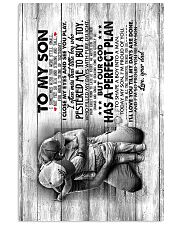 Son - Hugging - I Sometimes Wish You Were Still  16x24 Poster front