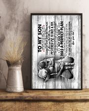 Son - Hugging - I Sometimes Wish You Were Still  16x24 Poster lifestyle-poster-3