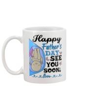 MUG - MOM MY DAD - BABY - SEE YOU SOON - CARAMEL Mug back