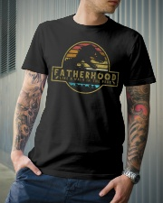 Fatherhood like a walk in the park Classic T-Shirt lifestyle-mens-crewneck-front-6