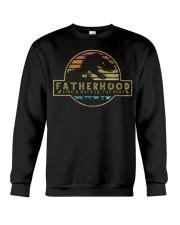 Fatherhood like a walk in the park Crewneck Sweatshirt thumbnail