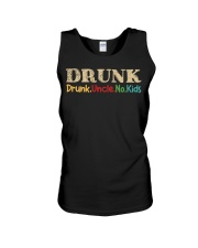 DRUNK Drunk uncle no kids Unisex Tank tile
